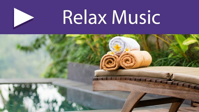 Image That Represents That Relaxing Music in Spa Center.